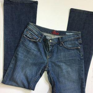 Blue Cult Boot cut Dark Stretch Jeans